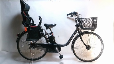 E-bike With Child Rear Seat img
